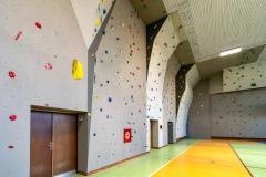 Horolezecký klub HK IAMES - Lezecká stena, foto: Jaroslav Moravčík, Pro-Mo