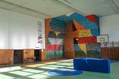 Horolezecký klub HK IAMES - Lezecká stena